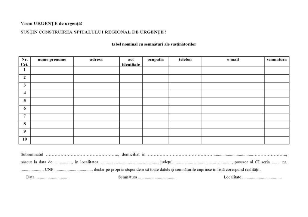 lista_semnaturi Vrem Urgente de urgenta