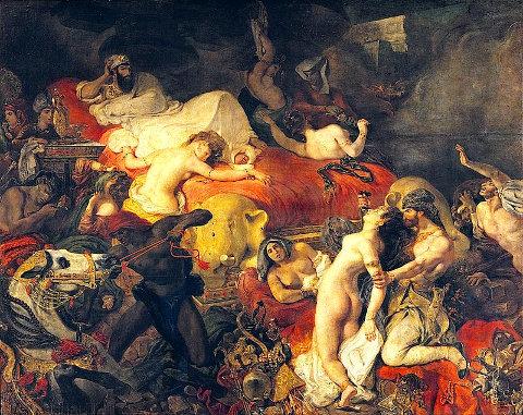 Moartea lui Sardanapalus