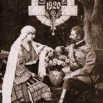 Regina Maria si Regele Ferdinand, 1920