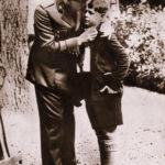 MS Regele Carol II cu Marele Voevod Mihai