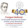 Ediţia jubiliară a Congresului Naţional al Societăţii Române de Diabet, Nutriţie şi Boli Metabolice