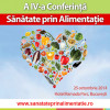 Conferinta Sanatate prin alimentatie 2014